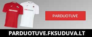 FK Sūduva atributikos parduotuvė